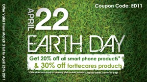 Earth Day Offer