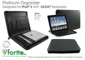 Platinium Organizer for iPad2