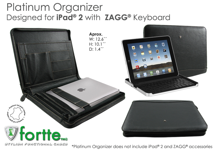 Platinium Organizer for iPad2