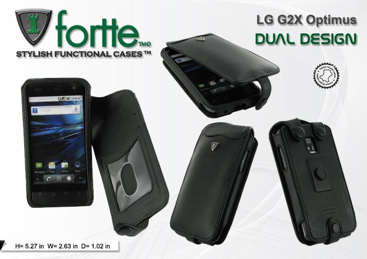 LG G2X Dual Design