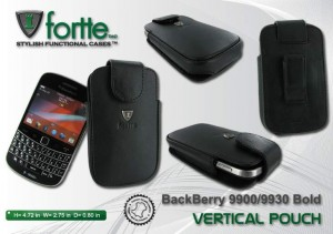 BlackBerry 9900 - 9930 Bold - Vertical Pouch