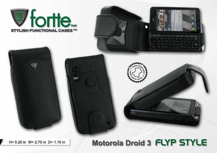Motorola Droid 3 - Flip Style