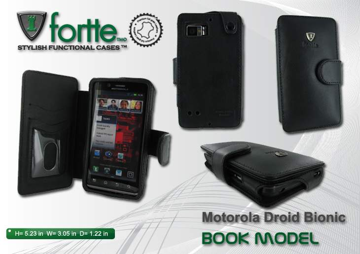 Motorola Droid Bionic - Book Model