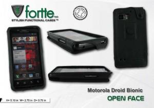 Motorola Droid Bionic - Open Face
