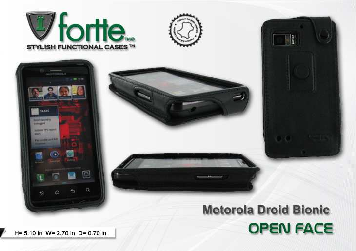Motorola Droid Bionic - Open Face