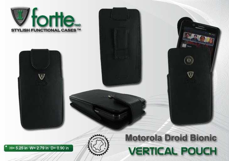 Motorola Droid Bionic - Vertical Pouch