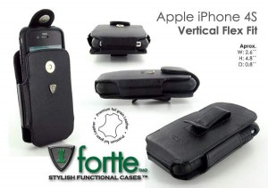 iPhone 4S Vertical Flex Fit