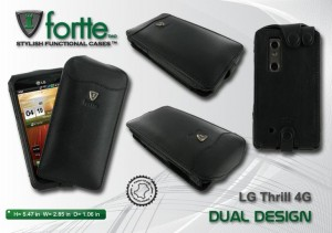 LG Thrill Dual Design