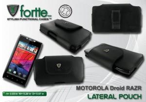 Motorola Droid RAZR - Lateral Pouch