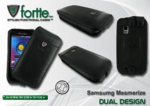 Samsung Mesmerize Dual Design