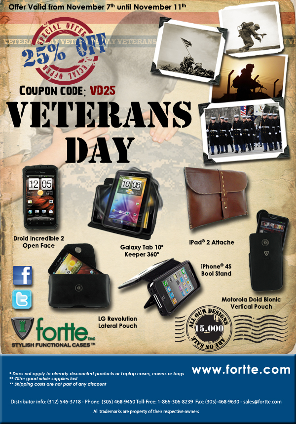 Veterans Day at Fortte