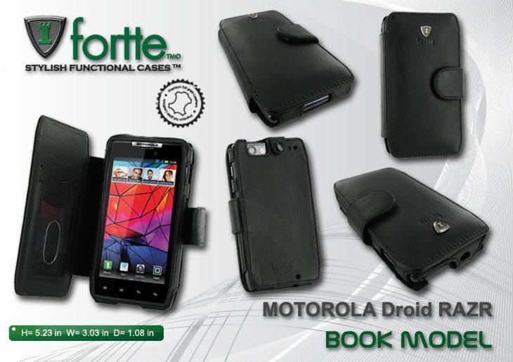 Motorola Droid RAZR - Book Model