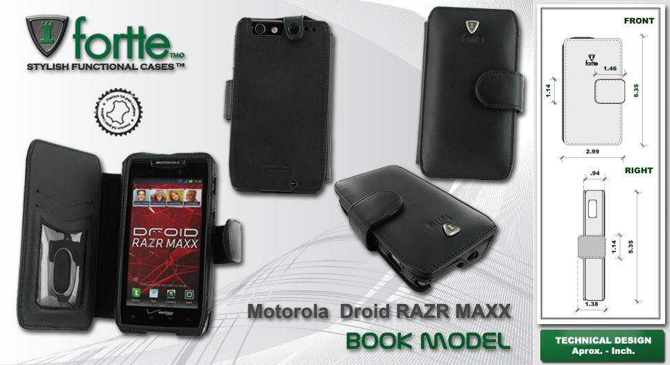 Leather case for the Motorola Droid Razr Maxx