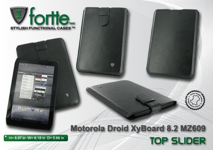 Motorola Droid XyBoard 8.2 MZ609 Top Slider